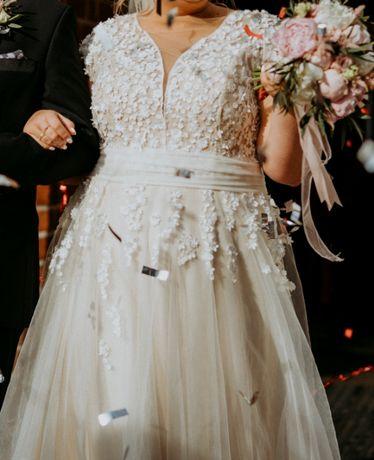 Suknia ślubna od Sylwii Kopczyńskiej r. 46-48