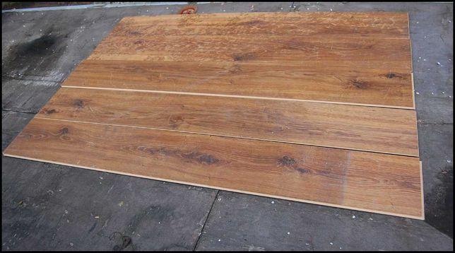 Panele podłogowe używane / loft / industrial / garaż / dąb