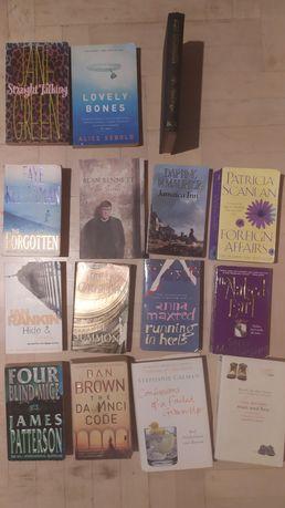 Angielskie powieści książki po angielsku 15 sztuk