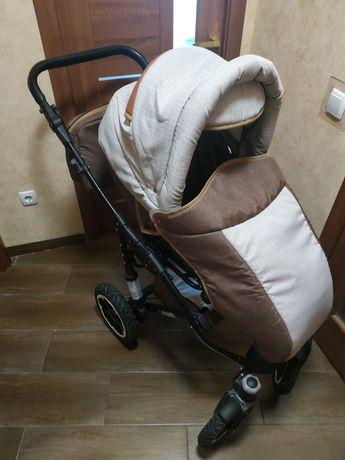 Коляска, возик, дитячий 2 в 1 donatan lavanda