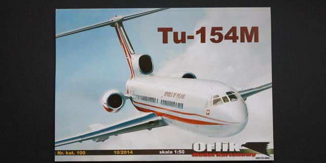 Tupolev TU-154M LUX skala 1/50
