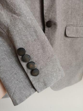 Пиджак льняной selected homme, костюм