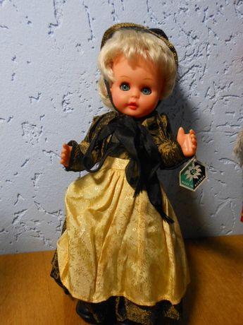 Коллекционная кукла.Австрия.Клеймо,Бирка Все родное,30 см 70-е года