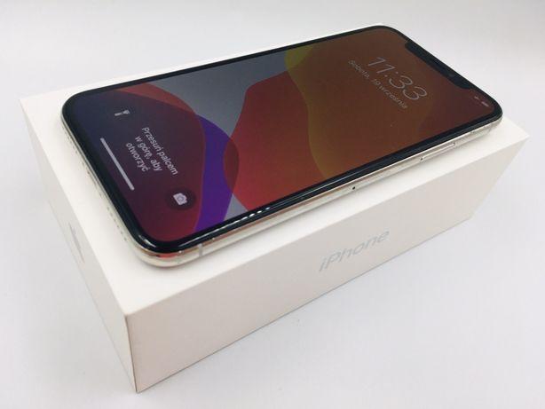 iPhone X 256GB SILVER • PROMOCJA • GWARANCJA 1 MSC • AppleCentrum