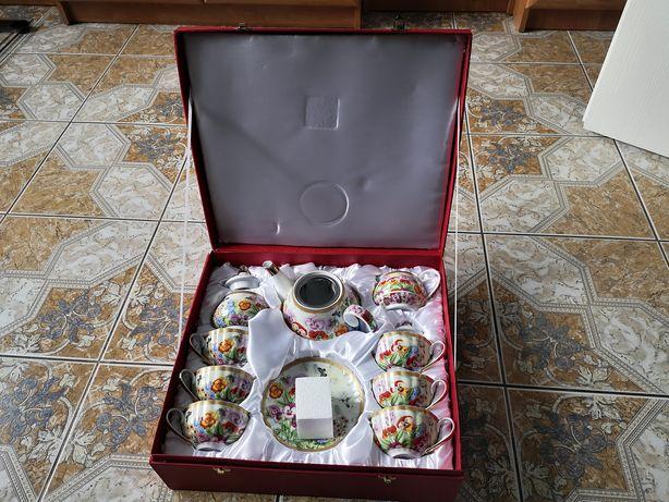 Zestaw kawowo-herbaciany Yamasen Fine Porcelain 24 Gold Collection