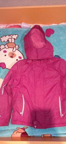 Куртка еврозима теплая,не промокает