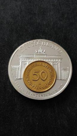 Монета Германия 1991 год