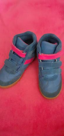 Сникерсы детские, ботинки демисезонныее, красивые сникерсы 33 размер