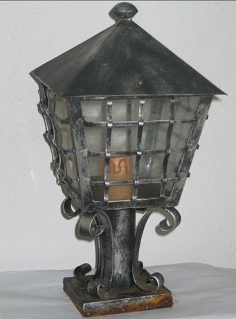Lanterna de Morete em Ferro Forjado