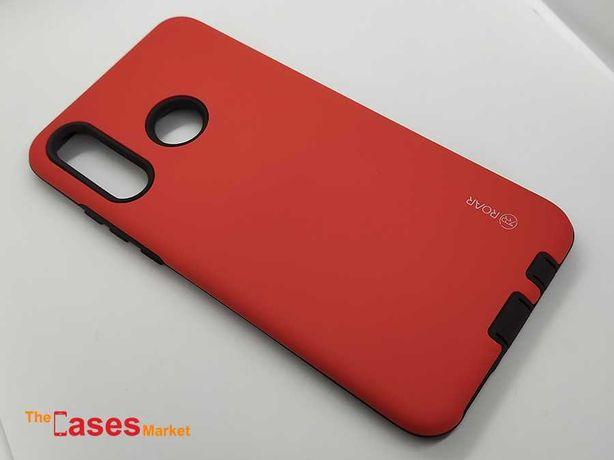 Capa anti-choque vermelha Huawei P30 Lite