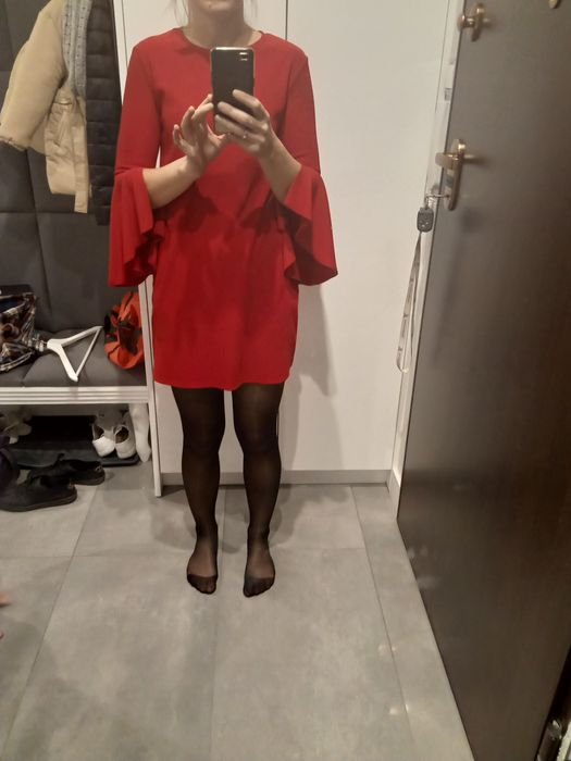 Sukienka XS Bershka swiateczna Wielgorz - image 1