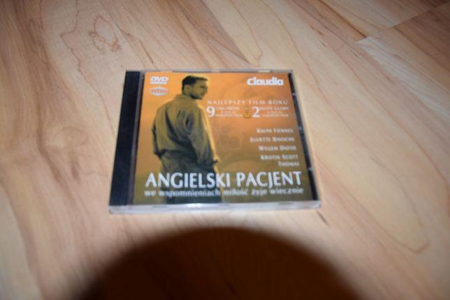 Angielski pacjent film DVD