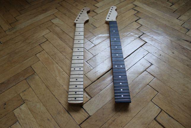Gryf do gitary elektrycznej - idealnie i perfekcyjnie nabite progi