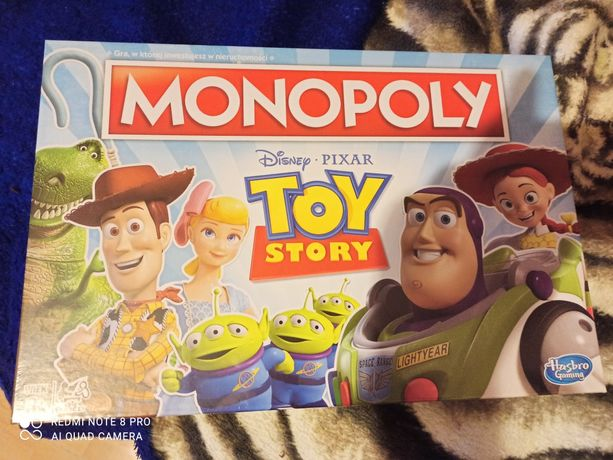 Monopoly Toy Story E5065 stan nowy