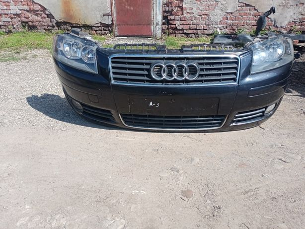 Audi A3 бампер 02-05 р фара капот Ауді А3