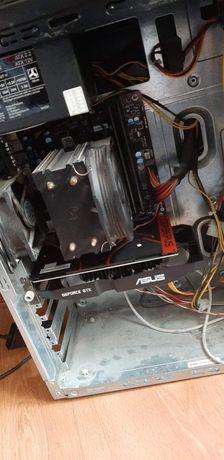 Komputer intel+asus gtx 1050ti 4gb