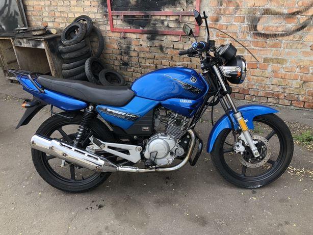 Мотоцикл Yamaha YBR 125 без пробега по Украине, только из Японии