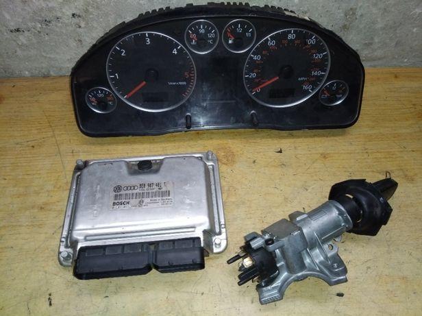 Audi a6 c5 2.5 TDI 163KM komputer sterownik zestaw immo 8E0.907.401T