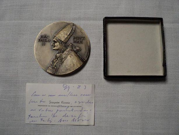 Medalha Bronze João Paulo II, visita a Fátima 1982