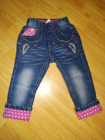 Джинсы для девочки 92-98
