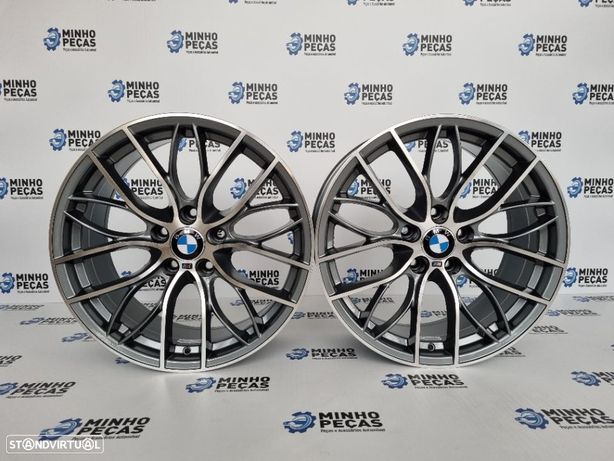 "Jantes BMW Performance em 18"" GunMetal"