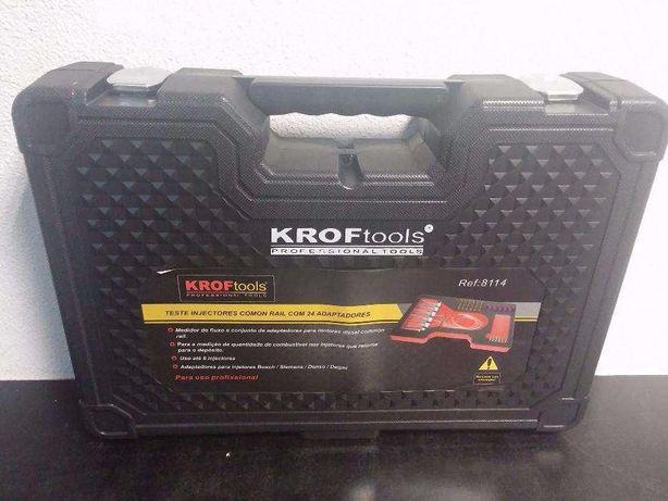 Teste Injectores Common Rail 24 Adaptadores KROFTOOLS