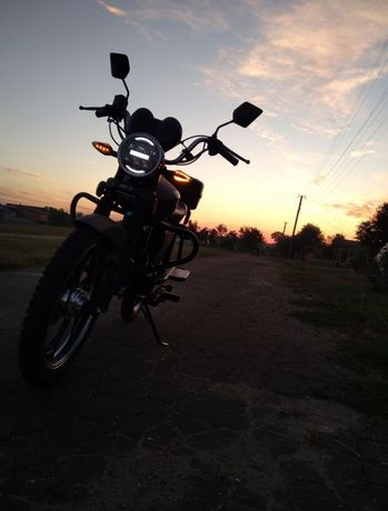 Продам мотоцикл або обмен на жигулі