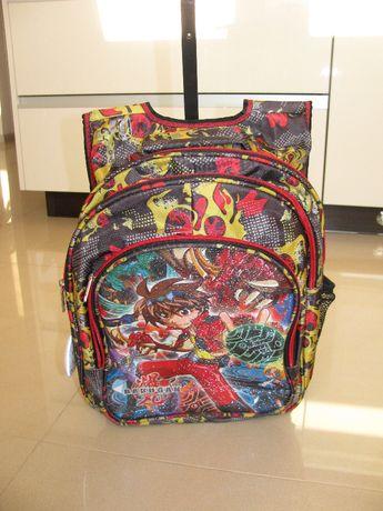 Plecak dziecięcy walizka na kółkach