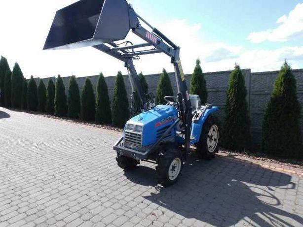 Iseki Sial 17 4x4 ładowacz czołowy tur mini traktor ogrodniczy