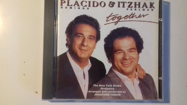 CD Original Placido e Itzhak - Together