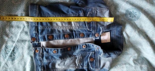 Джинсовый пиджак кофта