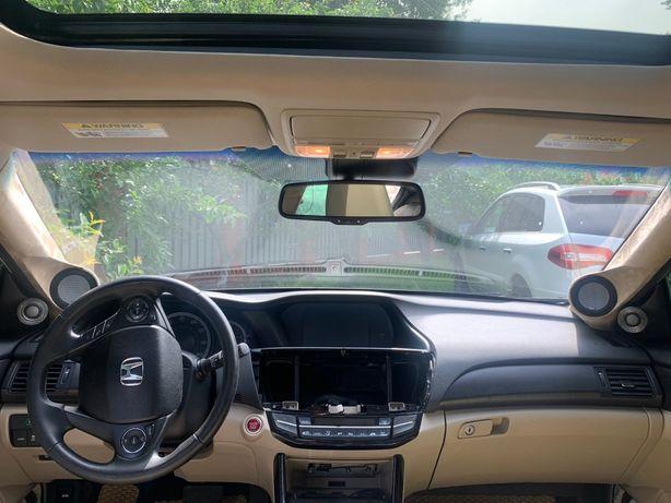 Honda Accord 9 подиумы под сч-вч динамики