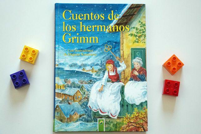 """""""Cuentos de los hermanos Grimm"""" zbiór bajek po hiszpańsku"""