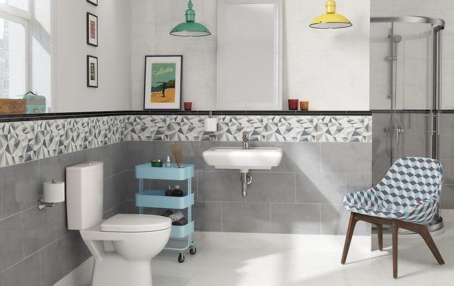 Płytki ceramiczne łazienkowe CERSANIT kolejkca ADELLE