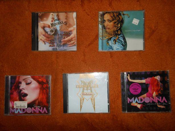 Fajne 5 płytek Madonny