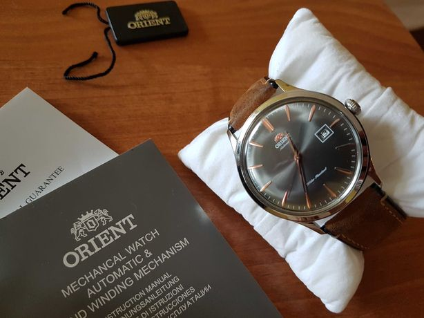 Zegarek nowy Orient Bambino V4 książeczki pudełko