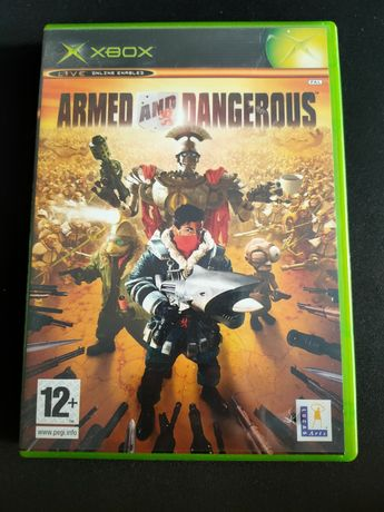 Armed and Dangerous XBOX Classic