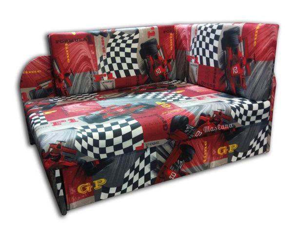 Narożnik dziecięcy Kubuś łóżko jednoosobowe