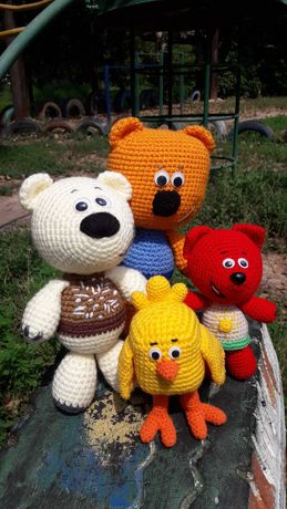Вязаные игрушки: Пикачу, Единорожка, Мимимишки, зайки, куклы, сувениры