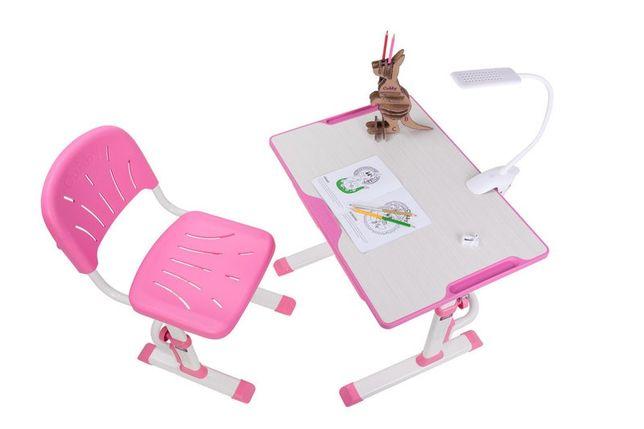 Акция Комплект растущая детская парта со стульчиком Cubby LUPIN