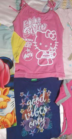 T.shirts  e Casaco Adidas 7/8 anos