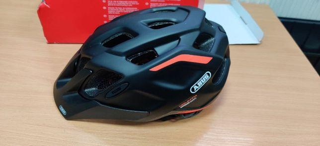 #87 Шлем велосипедный ABUS MOUNTK 2.0 M 53-58 Shrimp Orange
