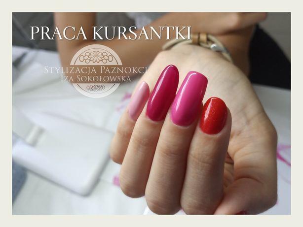 Kurs Szkolenie Pakiet Przedłużanie paznokci żelem Manicure hybrydowy