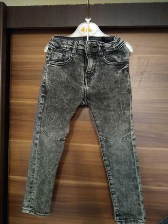 Spodnie/ rurki slim fit ZARA 110