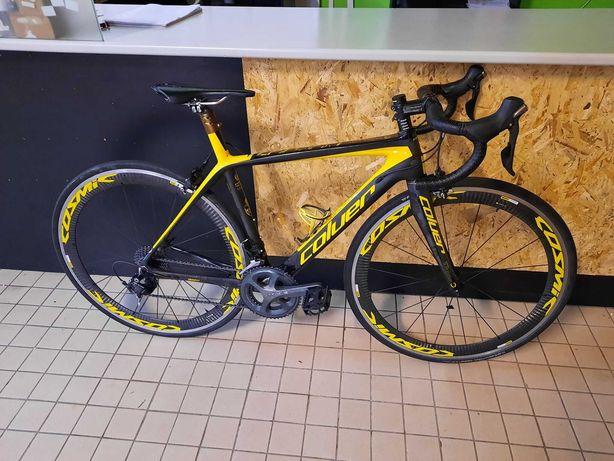 bicicleta xs de carbono com rodas de carbono
