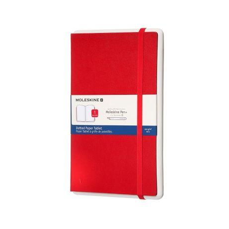 Бумажный планшет Moleskine pen+ средний в точку 13/21 красный