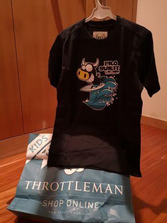 T-shirt Throttleman tamanho 10