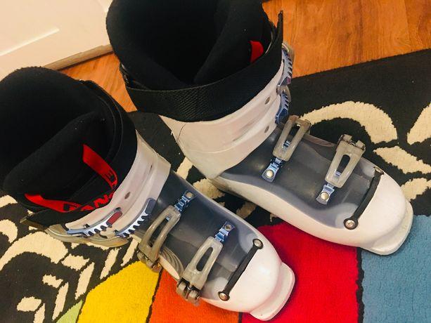 Lange buty narciarskie - długość 24,5 cm czyli rozmiar 37-38