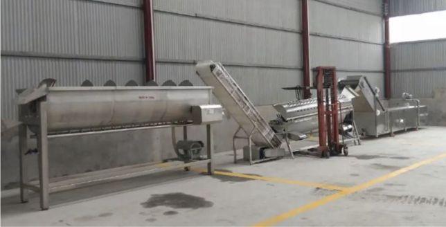 Оборудоване для переробки курячих лапок
