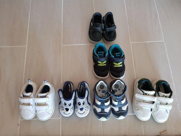 Sapatos de menino tam 20, 21, 22 e 23